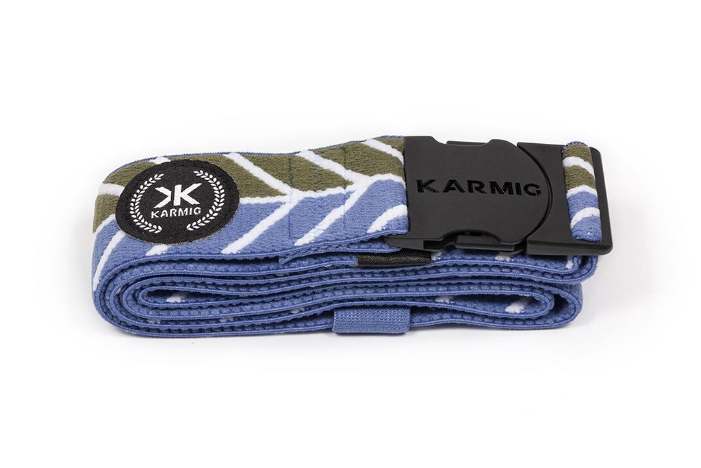 Cinturón deportivo azul/oliva