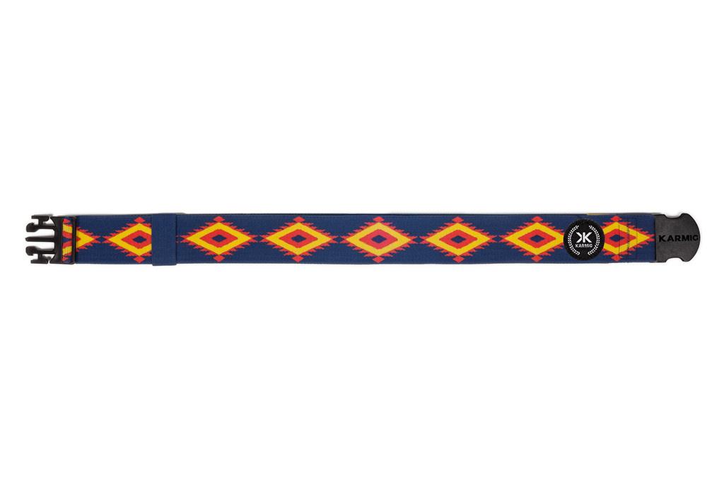 The Aztec un cinturón único de Karmig