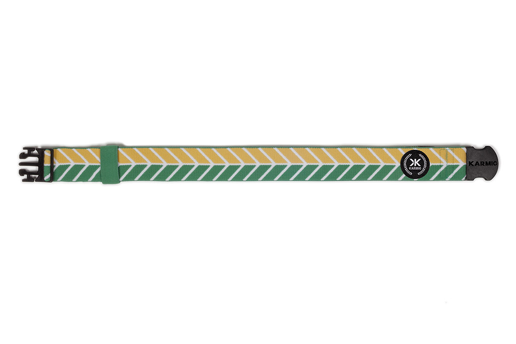 Sport Belt The Fishbone Green/Yellow