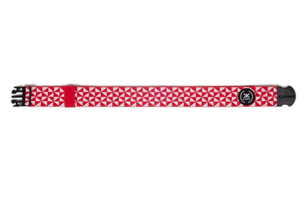 Nuevo cinturón deportivo rojo y blanco
