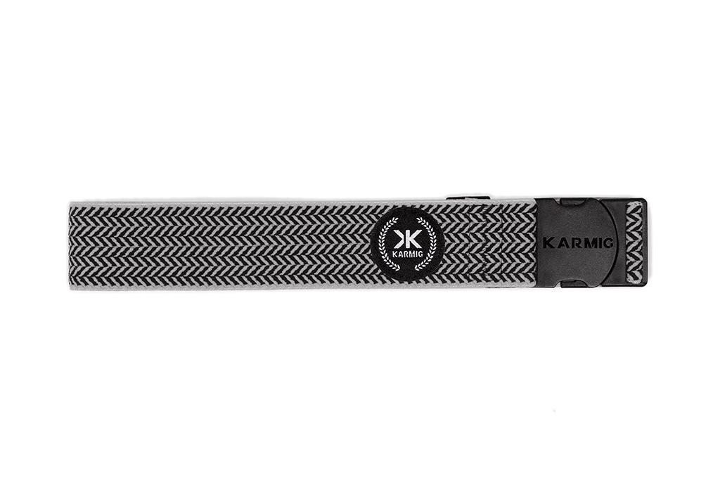 Karmig Belt The Stockholm Black/Grey
