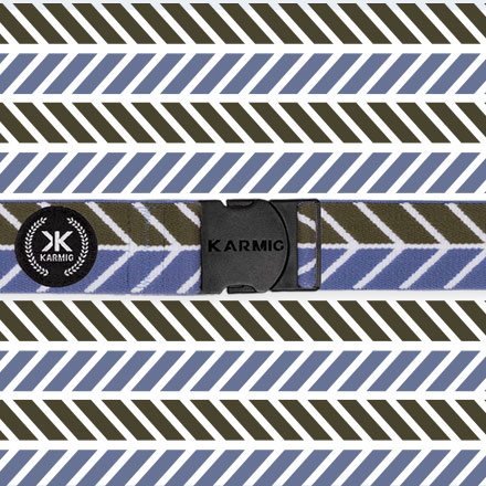 Karmig Off Fishbone Blue