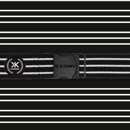 Karmig Off White Stripes